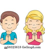 Praying Clip Art.