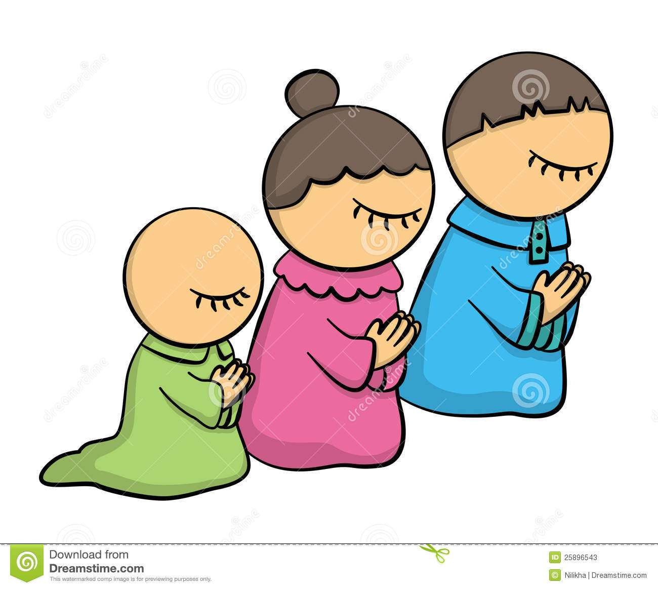 Kids praying clip art clipart images gallery for free.