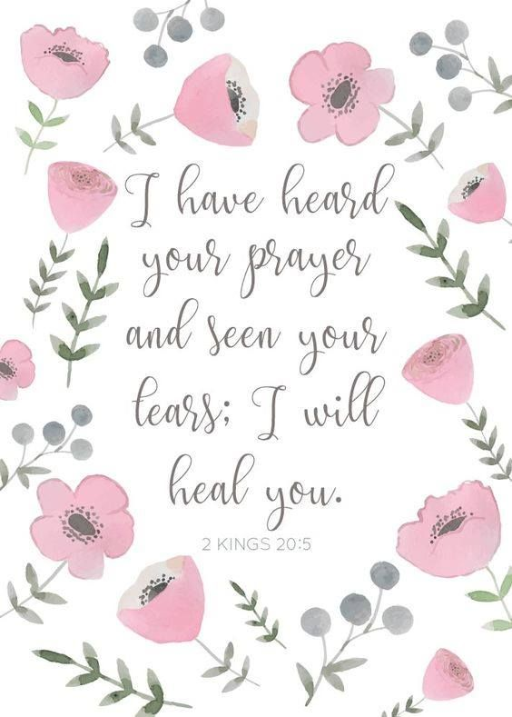 2 Kings 20:5 Thank You Jesus.