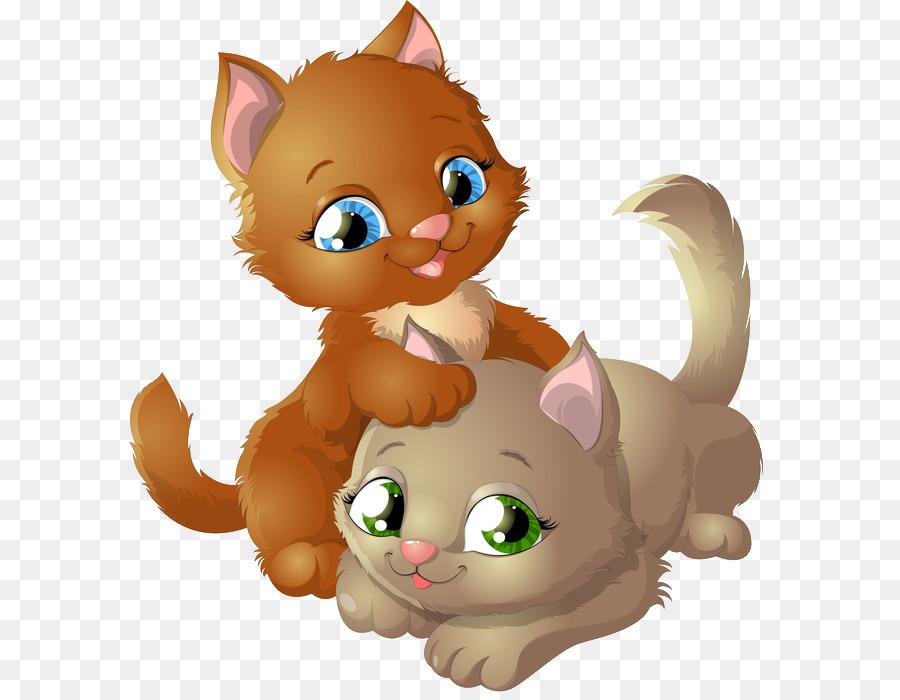 Kitten clipart 2 kitten, Kitten 2 kitten Transparent FREE.