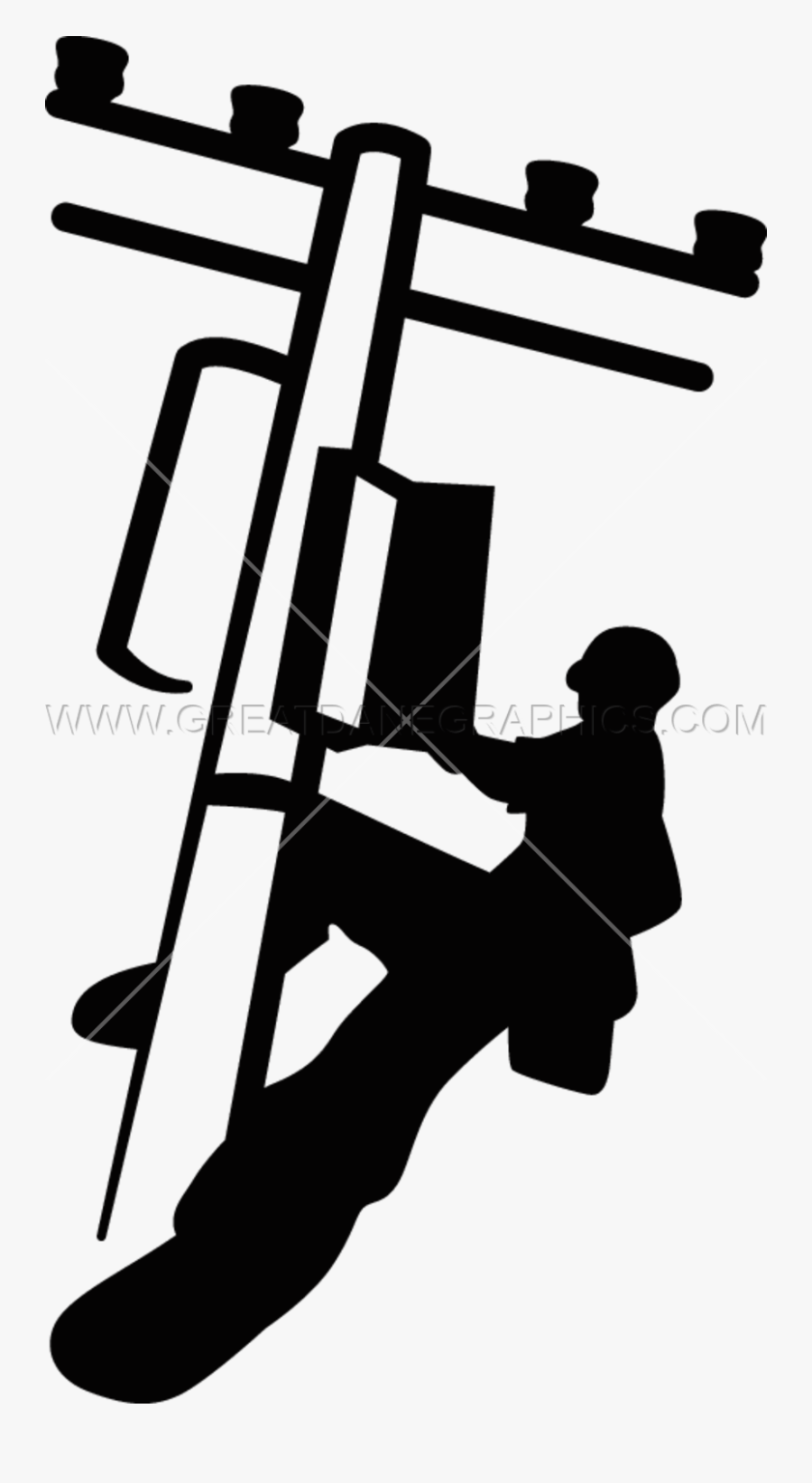 Electric Lineman Png Clipart Lineworker Clip Art.