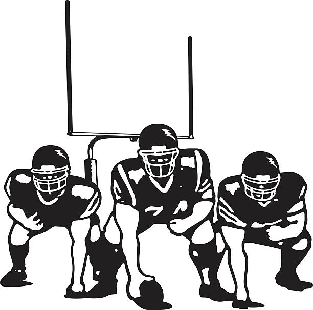 Lineman Football Clipart.