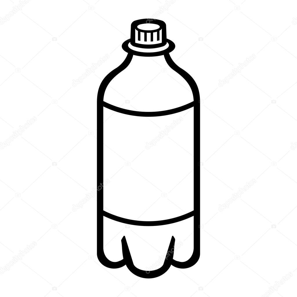 Soda bottle clipart black and white 2 » Clipart Portal.
