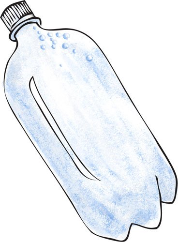 2 Liter Soda Bottle Clipart.