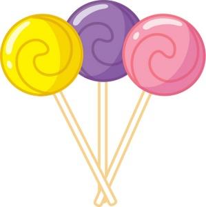 Swirly lollipops clipart clipart kid.