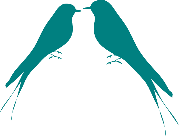 Free Love Bird Silhouette Clip Art, Download Free Clip Art.