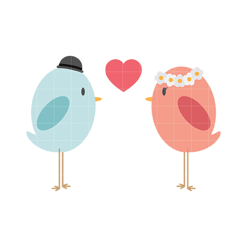 Love birds clipart 2 » Clipart Station.