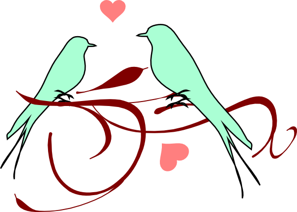 Love birds clipart wedding free images 2.