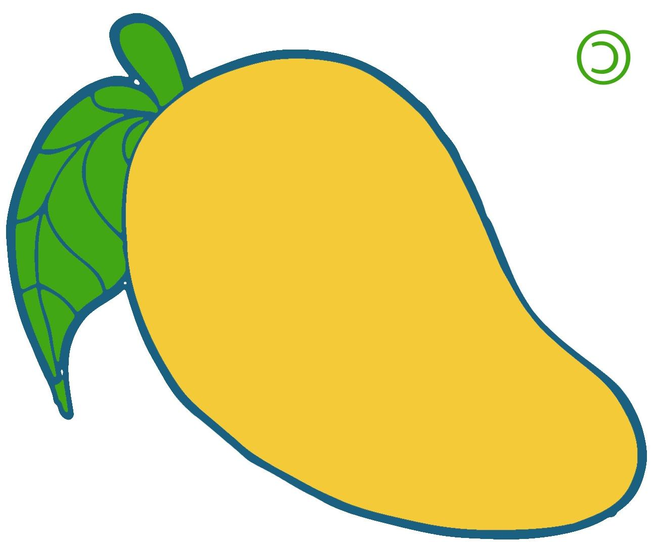 Yellow mango clipart 2 » Clipart Station.
