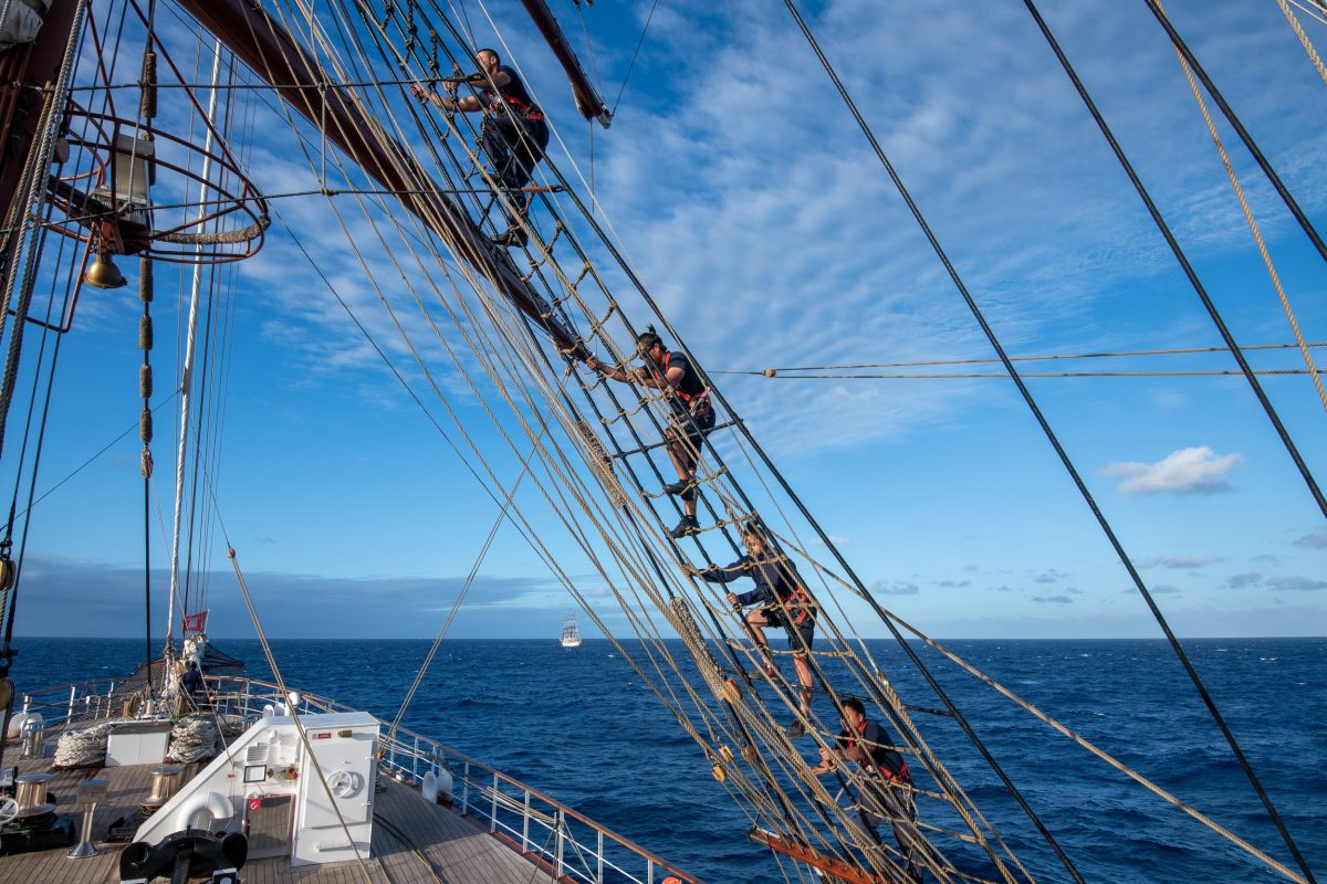Sailing to the Canary Islands and Morocco on Sea Cloud II.