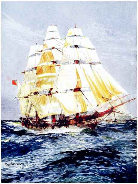 The Project Gutenberg eBook of Ships and Ways Of Other Days.