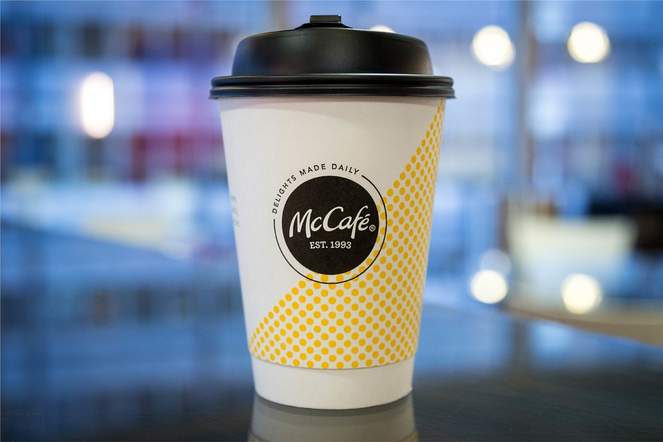 McCafe Packaging Redesign by Boxer Brand Design for McDonald\'s.