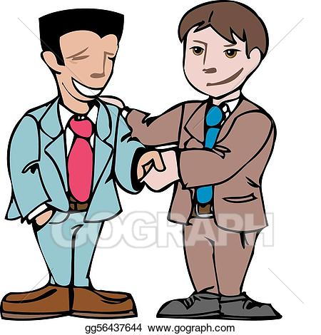 Two men clipart 2 » Clipart Station.