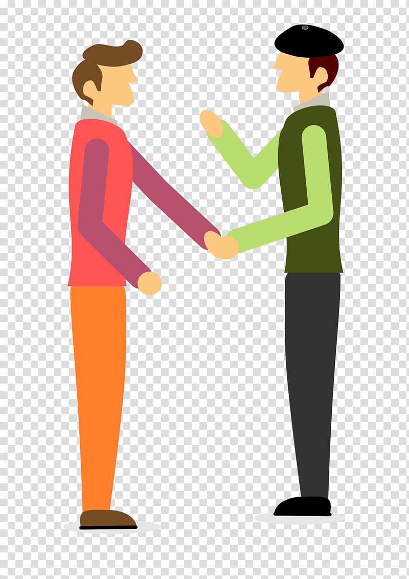 Two Men Talking , conversation transparent background PNG.