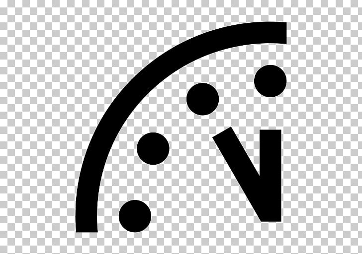 Doomsday Clock Bulletin of the Atomic Scientists 2 Minutes.