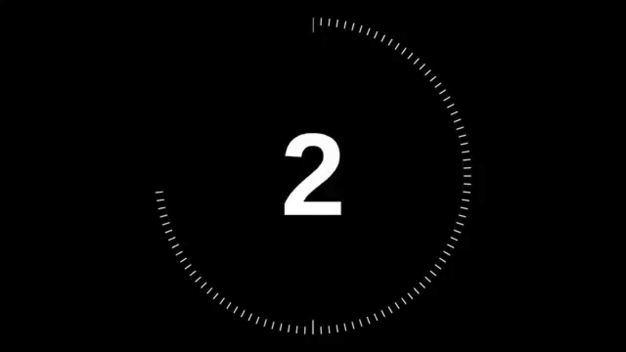 2 Minute Countdown Timer.