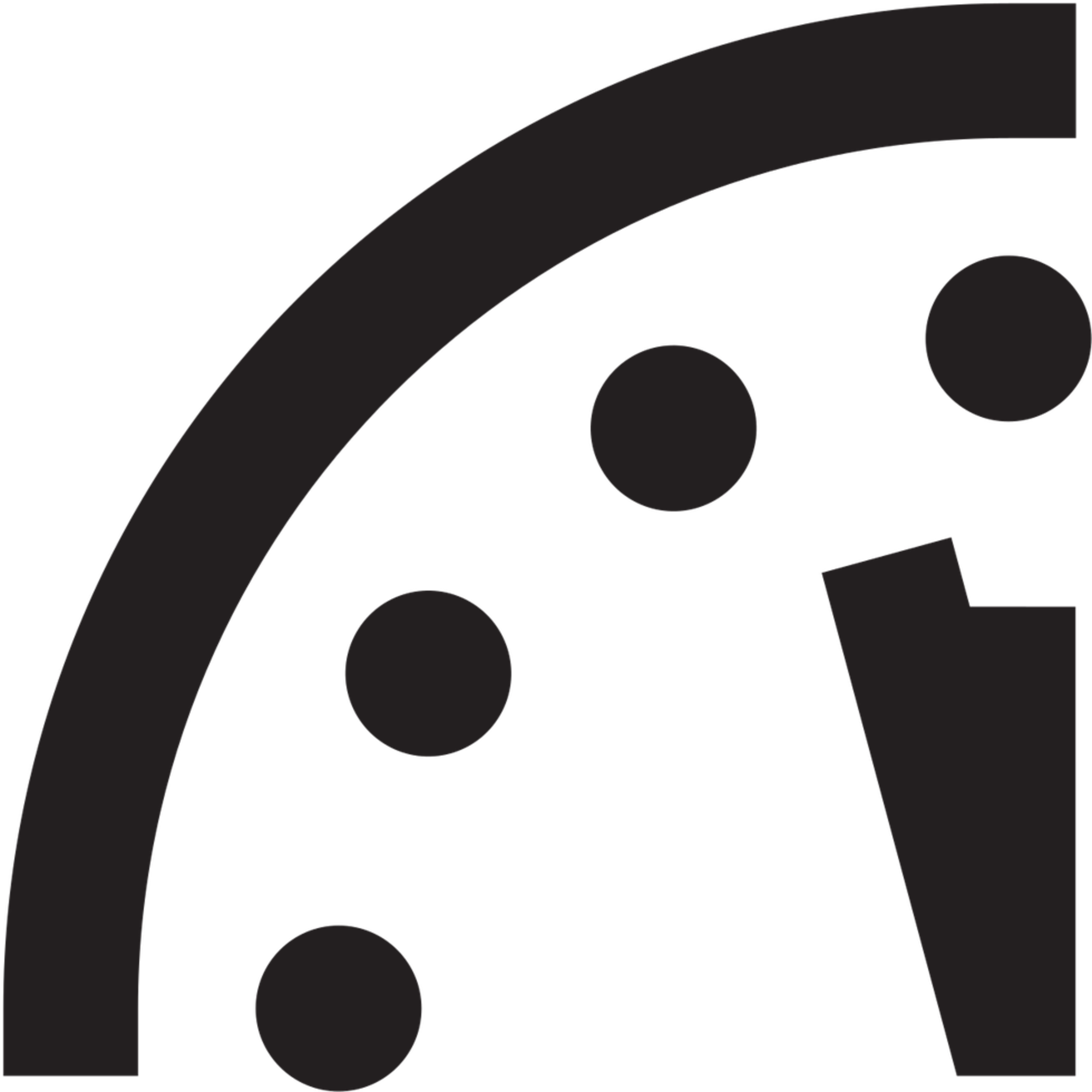 Clock With Arrows At 11.