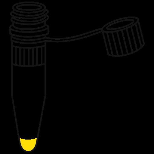 Eppendorf tube 1.5 ml.