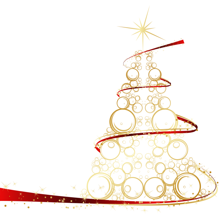 Christmas tree Clipart on transparent background Image Free.