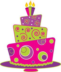 Happy birthday cake clipart free vector for download about 1.