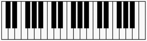 Free Piano Keyboard Diagram to Print Out for Your Students.