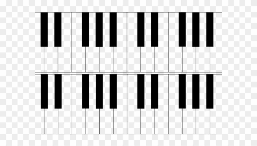Piano Clipart Octave.