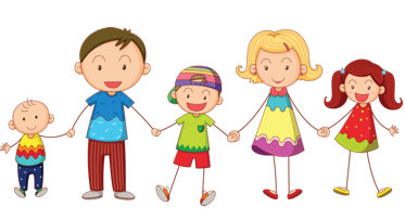 2 Sisters And Brother Clipart.