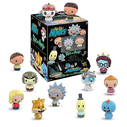 Funko Pint Size Heroes: Rick and Morty Mini Toy Action Figure.