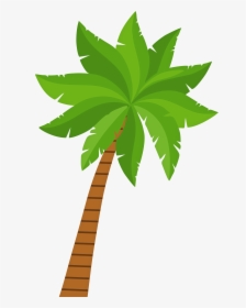 Transparent Palm Trees Clipart.