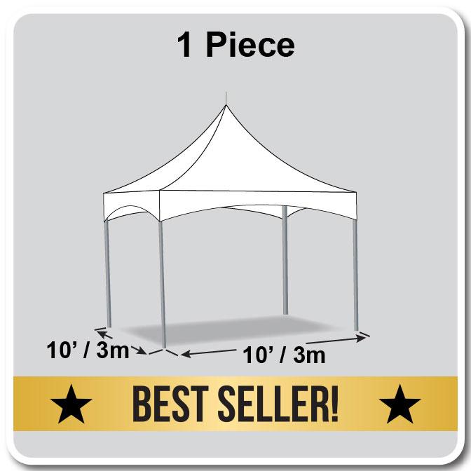 10\' x 10\' Pinnacle Series High Peak Frame Tent.
