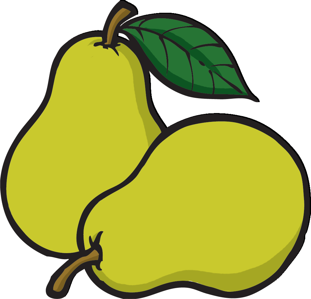 Pear clipart 2 » Clipart Station.