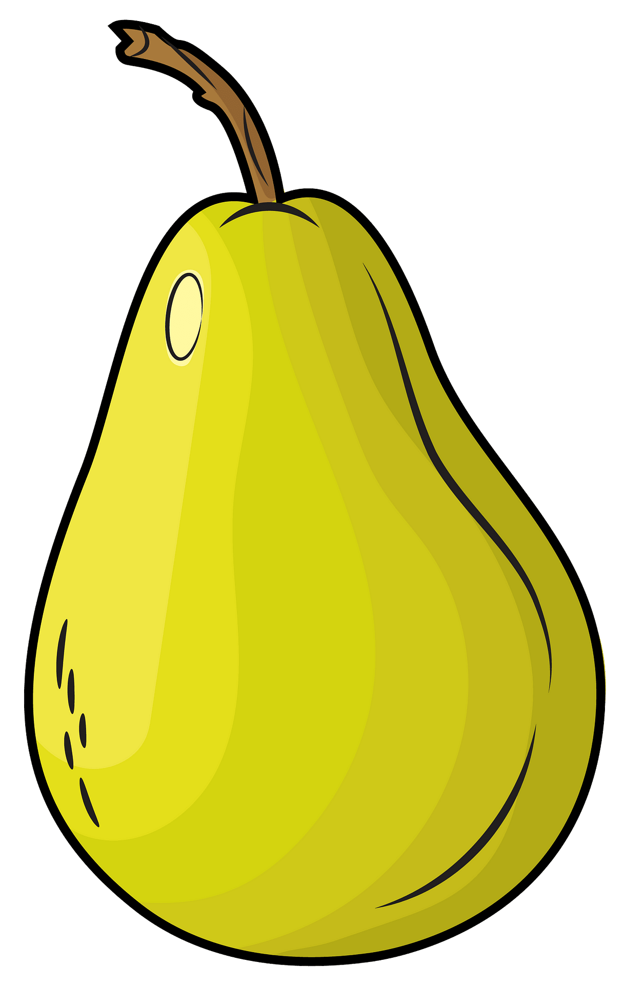 Pear clipart. Free download..