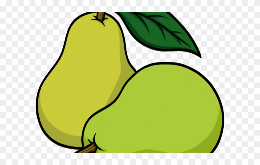 Pear Clipart Sketch.