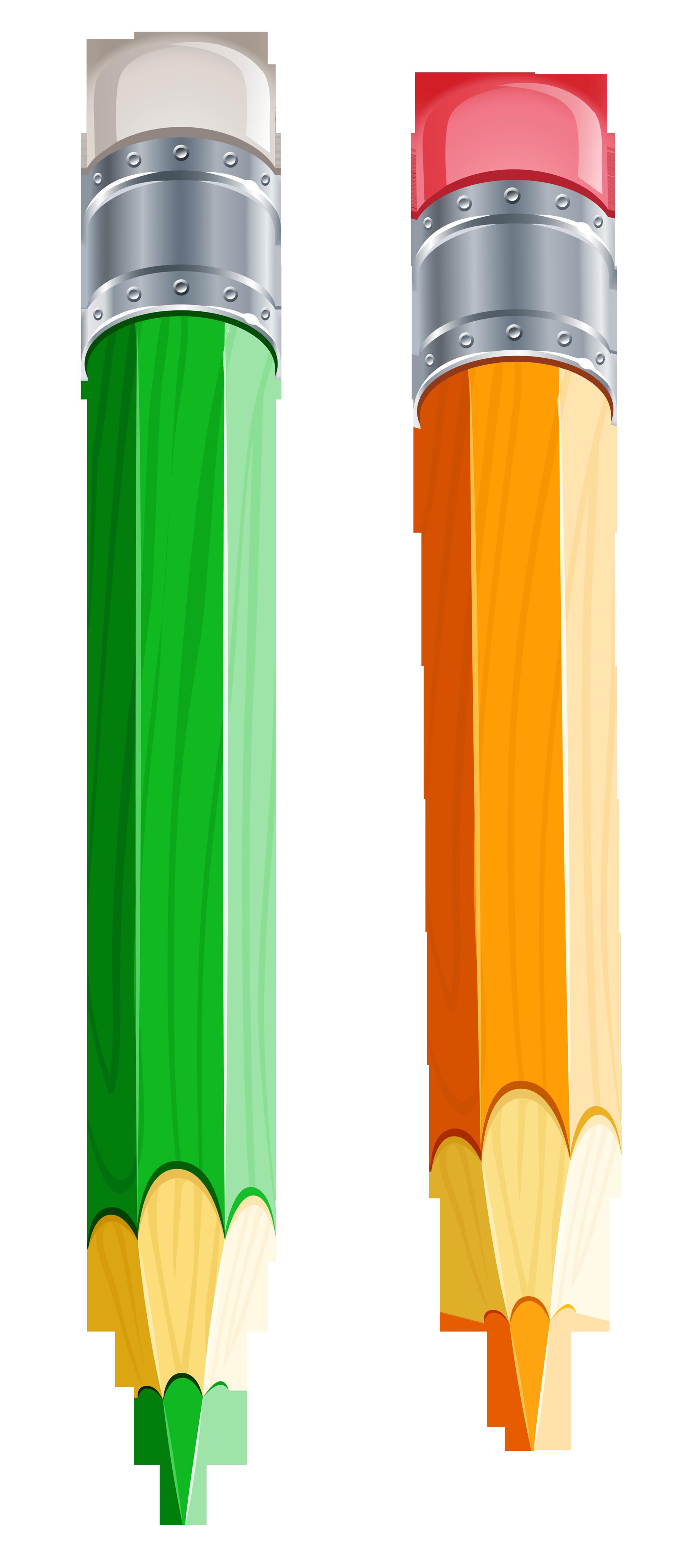 2 Pencils Clipart.