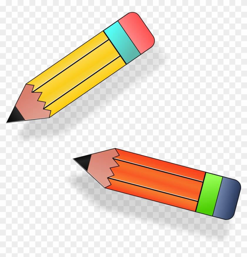 Long Clipart 2 Pencil.