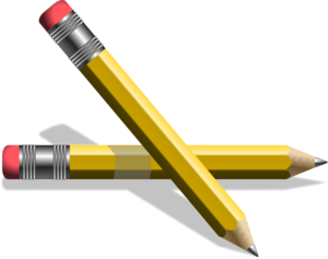 Number 2 Pencil Clipart.