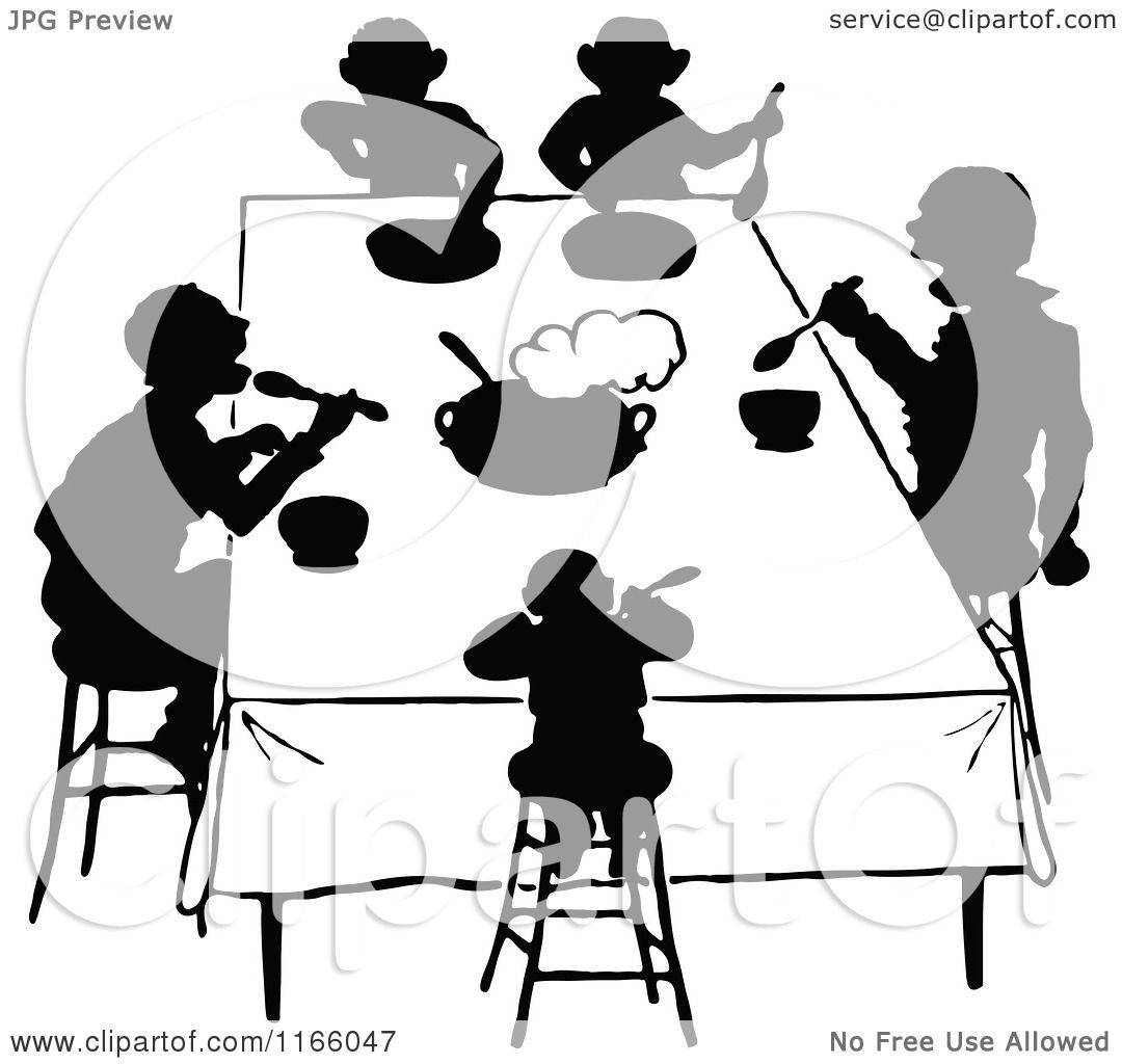 Watch more like People Eating At Table Clip Art.
