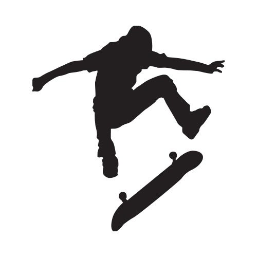 2 people doing skateboarding clipart clipart images gallery.