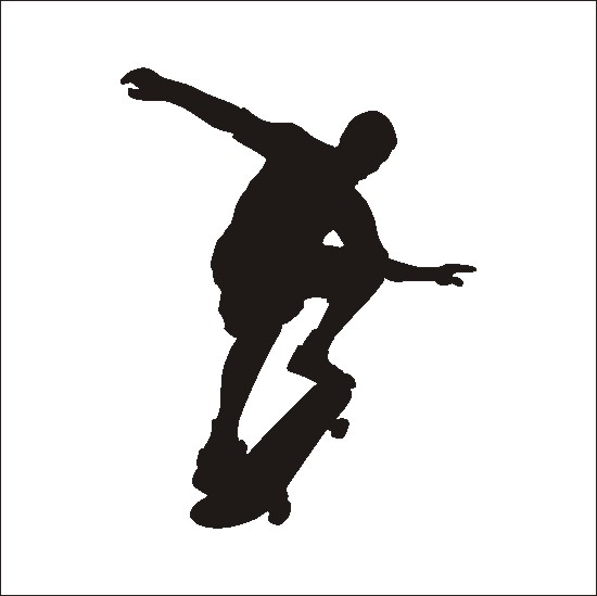 Skateboard clipart sports free clipart images image 2.