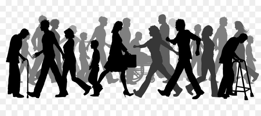 Group of people walking clipart 2 » Clipart Station.