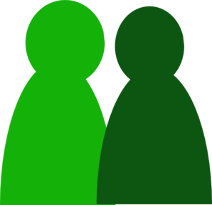 2 people clipart.