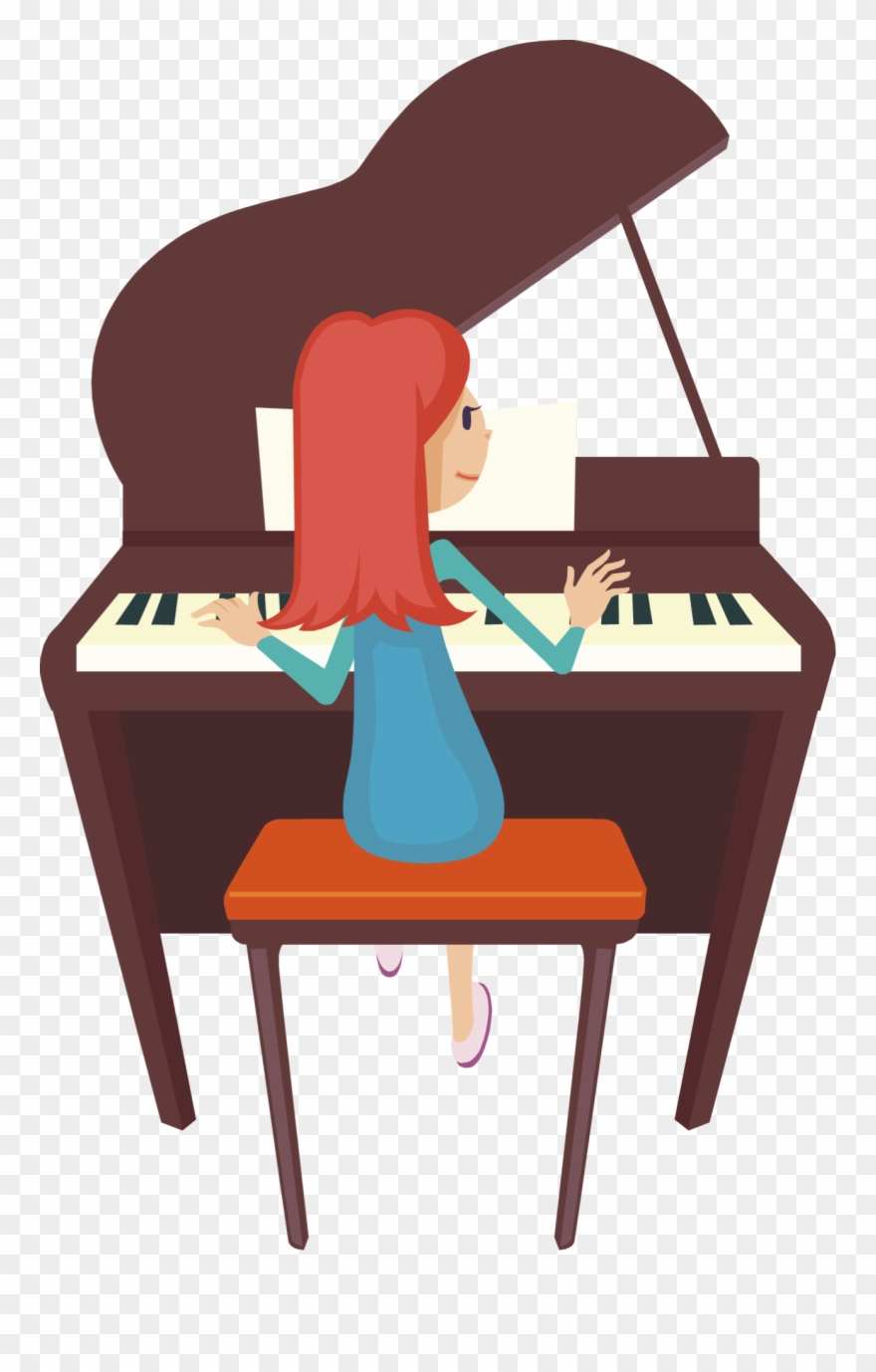 Piano Clipart Two.