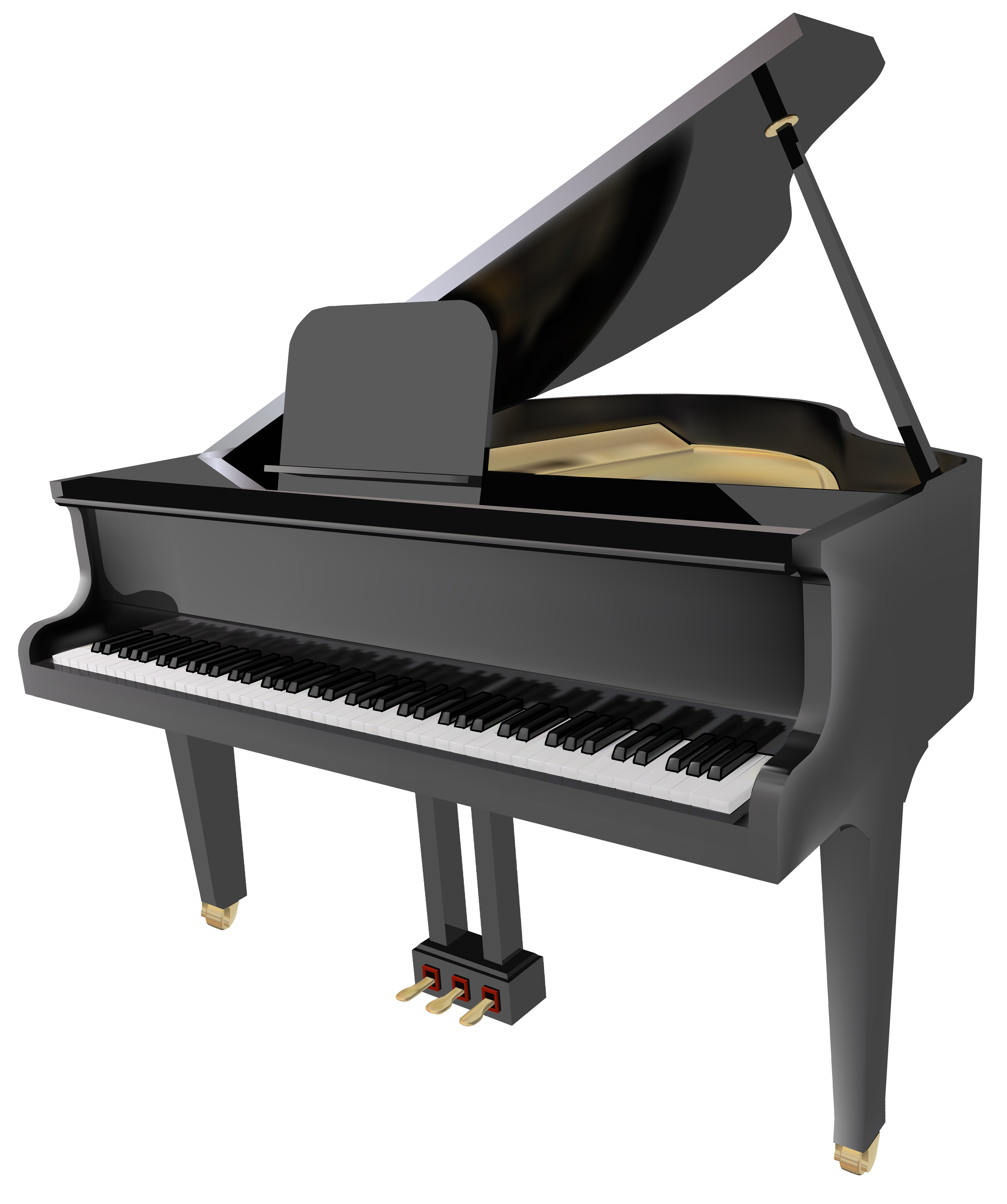 Piano clip art free clipart images 3 clipartcow 2.