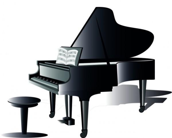 Free piano clipart clipart 2.