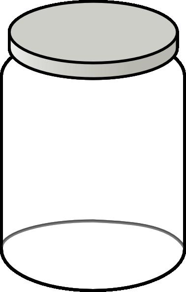 Clipart Of A Jar.