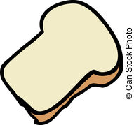 2 Slices Of Bread Clipart.