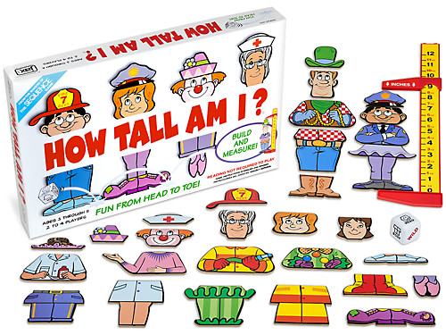 How Tall Am I?® Measurement Game.