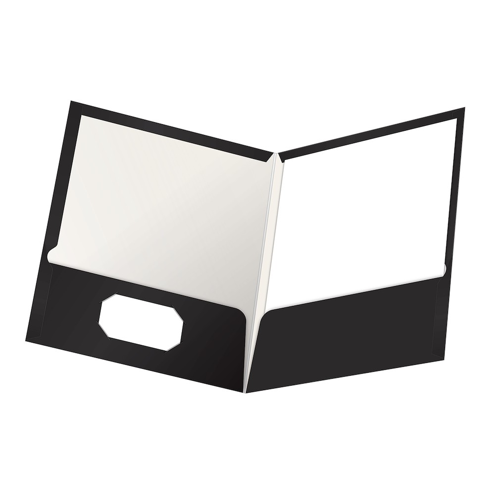 Pocket Folder Clipart Black And White.