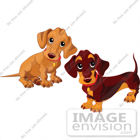 717 Puppies free clipart.