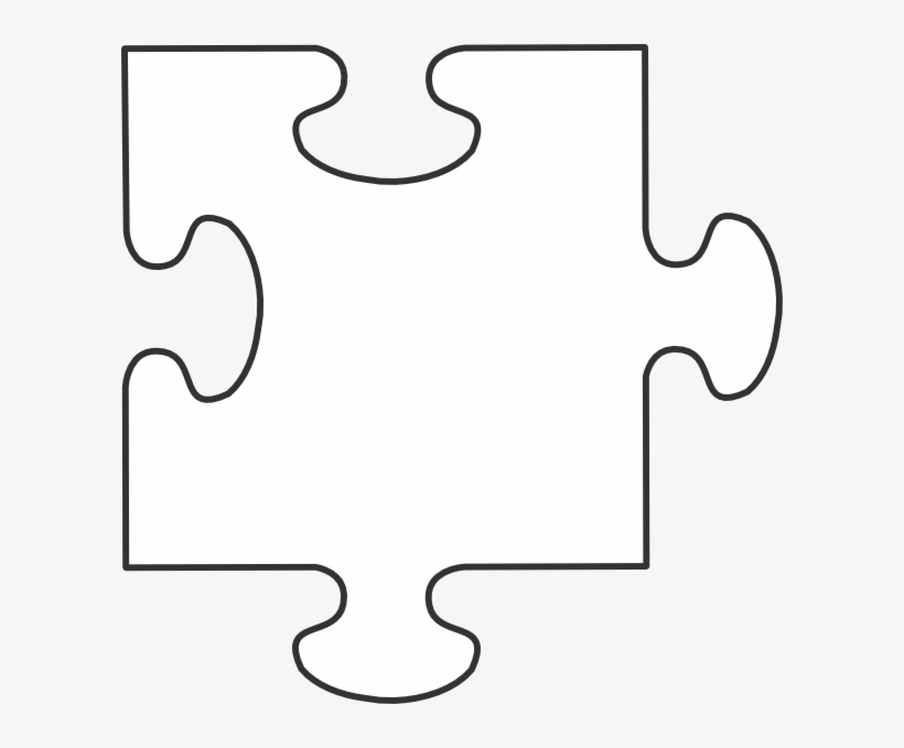 Individual Puzzle Pieces Clipart 2 By James.